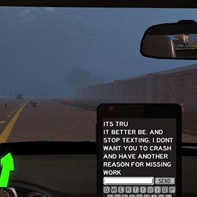 Distracted Driving Video In Phone