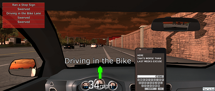 Virtual Driver Interactive - Driver Training Simulator